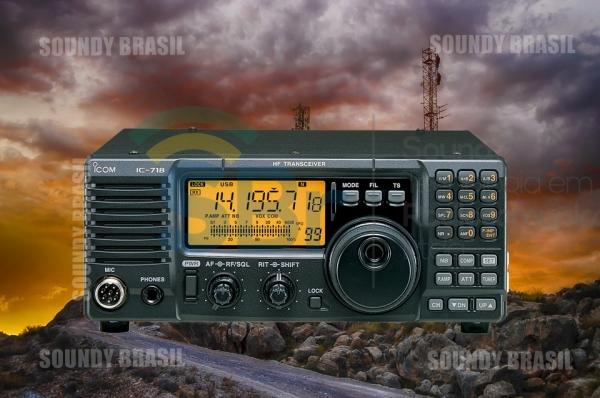 ICOM IC-718 Transceptor HF/SSB 1,8~30MHz 100W COM DSP - Soundy