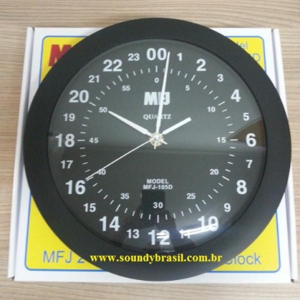 64874fe1201 MFJ-105D Relógio de parede - Soundy Brasil Radiocomunicação