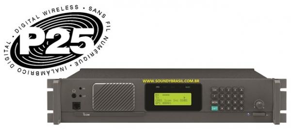 icom ic fr9010 estação repetidora p25 vhf 110w soundy brasil