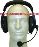 ed1d4ef0ed6 MFJ-393MY Headset para rádios Yaesu 8 pinos modulares