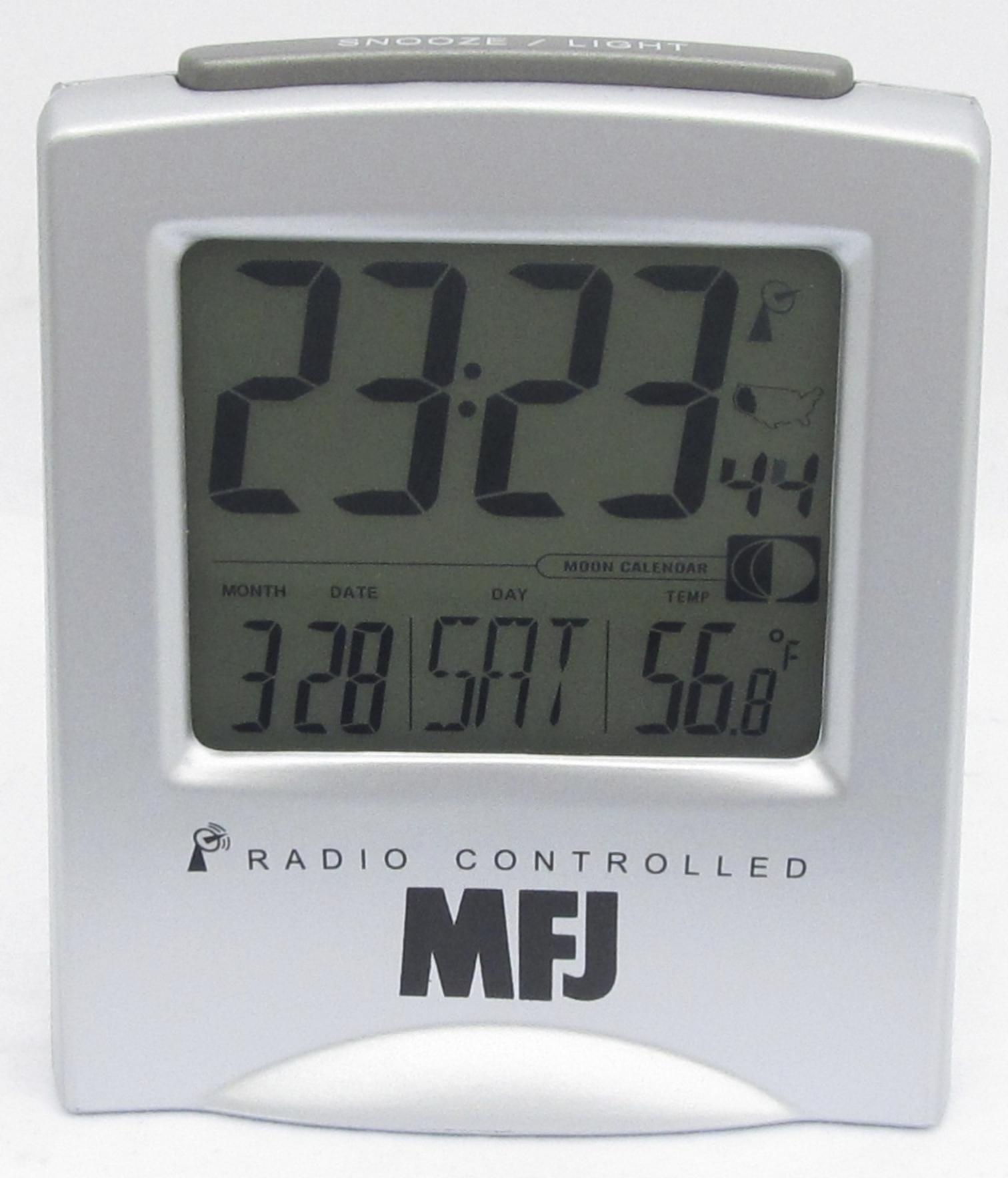 38417f15183 MFJ-122RC Relógio Digital - Soundy Brasil Radiocomunicação